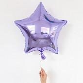 Фольгированный шар звезда, цвет  46 см